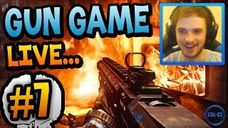 you cant hide gun game live w ali a 7 call of duty ghost