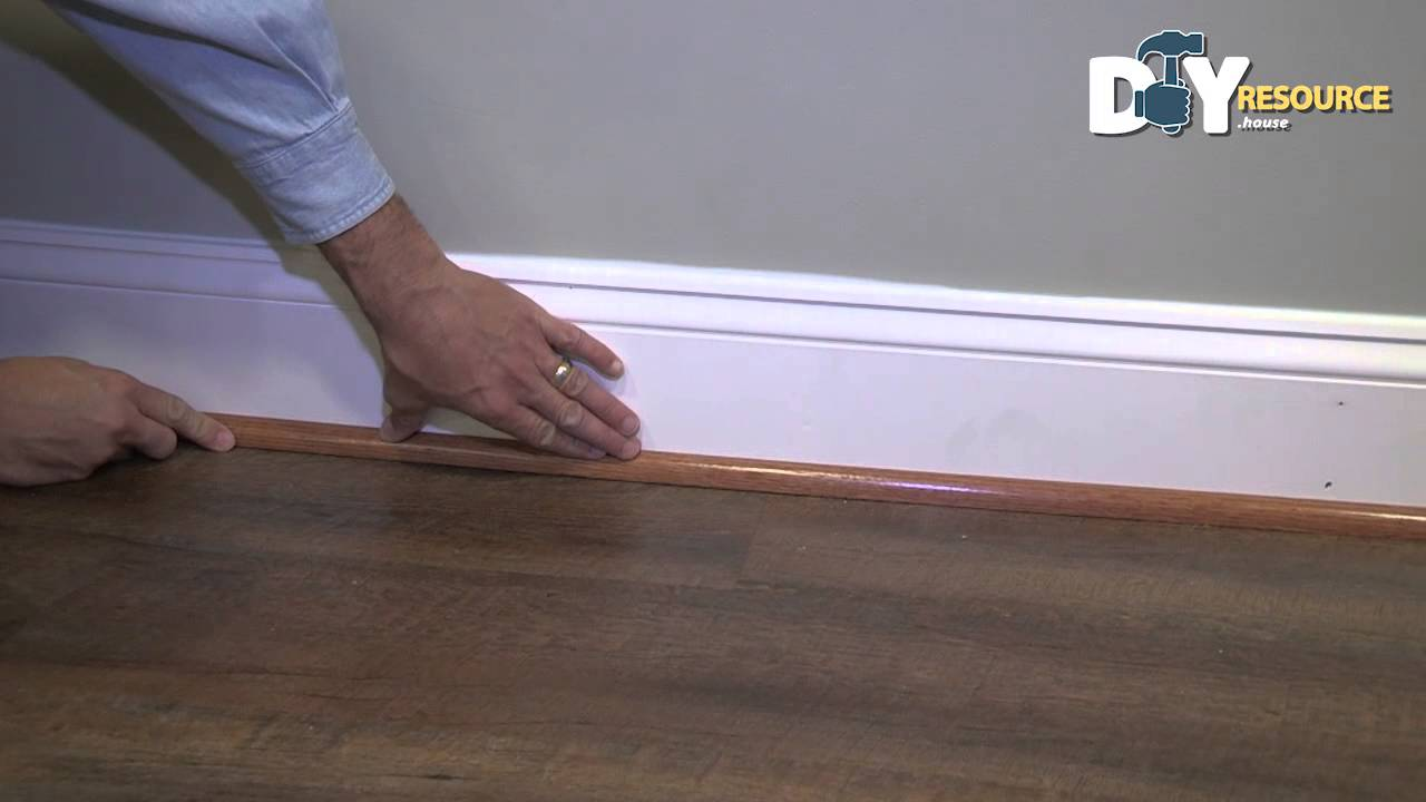 Installing Shoe Molding To Your Baseboards Youtube