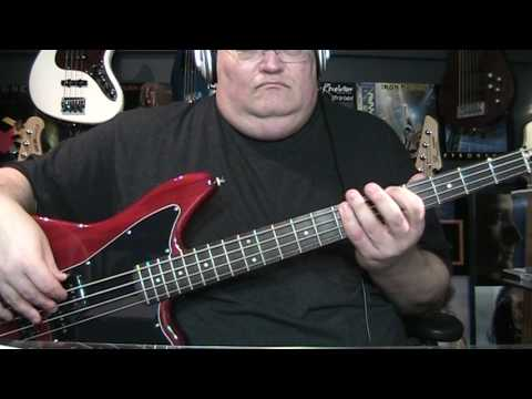 David Bowie Heroes Bass Cover with Notes & Tab