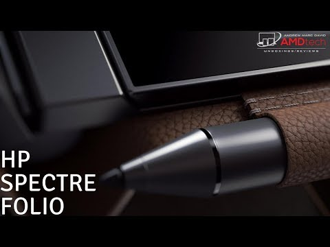 HP Spectre Folio Unboxing and First Impressions: The Leather Laptop