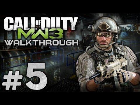 Прохождение Call of Duty: Modern Warfare 3 - Миссия №5 - Снова в Игре