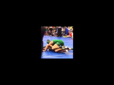 Josh Newman wrestling highlight tape
