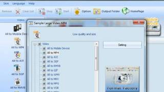 Using Format Factory to reduce a video file size(This tutorial will show you very quickly how to drastically reduce the file size of an HD video from a Flip video camera without sacrificing much in terms of quality., 2011-02-22T15:17:07.000Z)