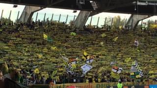 L'hymne à la beaujoire Nantes 1-1 Rennes  02-11-14