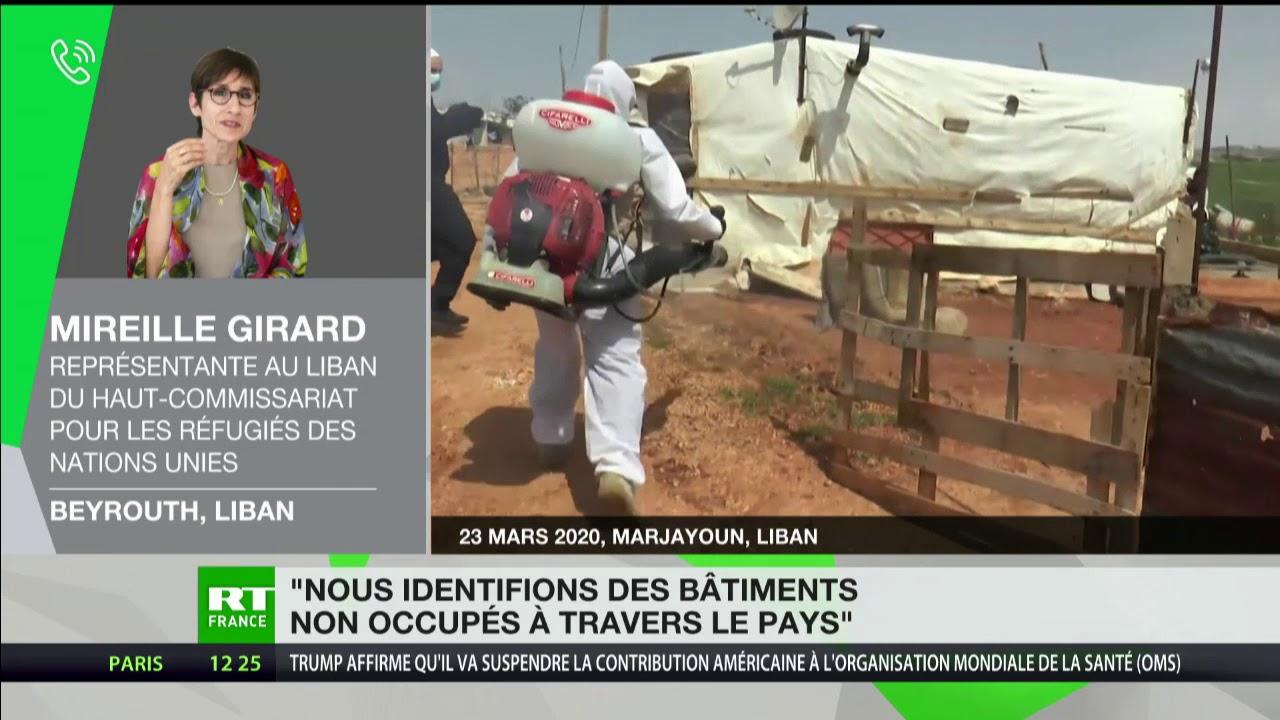 Liban : «Nous identifions des bâtiments non occupés pour les utiliser comme zone de confinement»