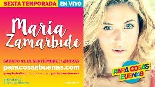 MARIA ZAMARBIDE - NOTA 02-09-2017
