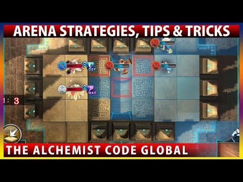 Arena Strategies, Tips & Tricks (The Alchemist Code Global)