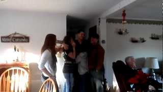 Soldier Surprising His Family For Christmas After Coming Home From Deployment