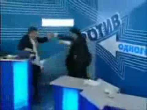 Russian TV Show gets out of control
