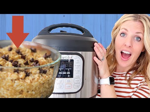How to Make Instant Pot Oatmeal in 5 minutes! Dump and Go Instant Pot Recipe