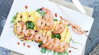 Reel Flavor - Grilled Shrimp & Pineapple