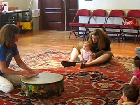 Ava Rose Crowley at Music Class 8 months
