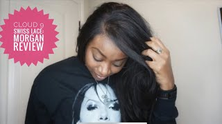 Sensationnel Synthetic Cloud 9 Swiss Lace Wig Review:  Morgan—WHAT LACE