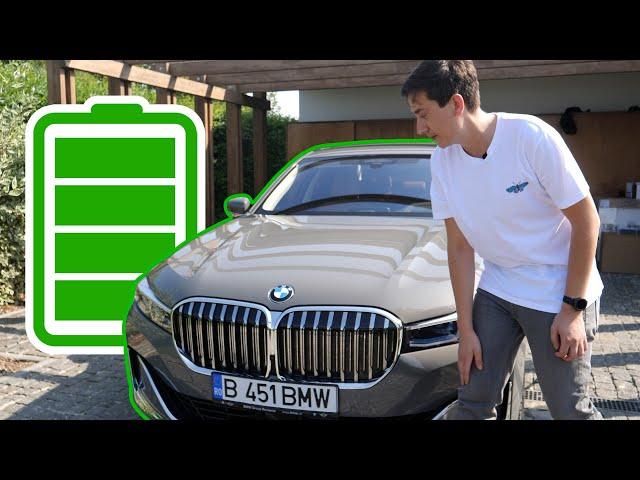 Cel mai avansat BMW - Seria 7 cu baterii 745e
