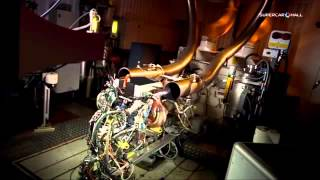 Essai d'un moteur Renault Lotus F1 Team
