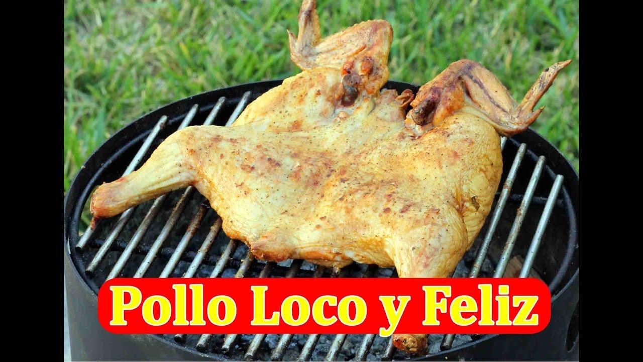 Cómo Asar Pollo Estilo Pollo Loco o Pollo Feliz