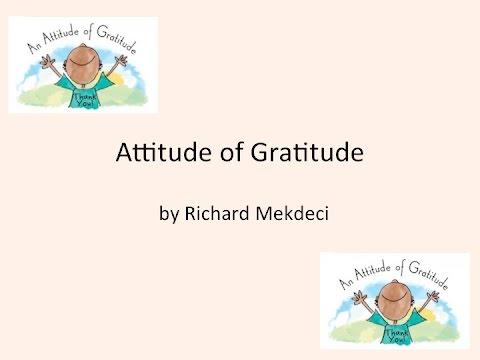 Attitude of Gratitude w/Lyrics