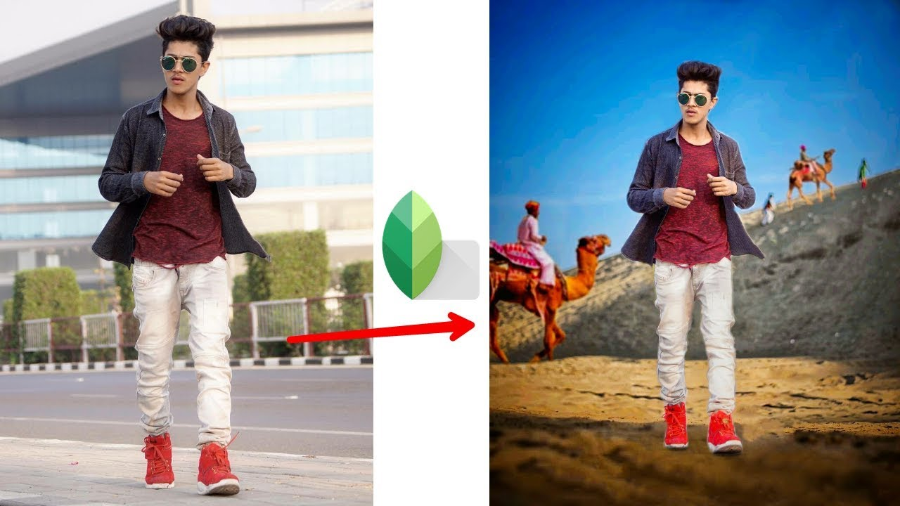 Snapseed Background Change Step By Step Editing | Manipulation Editing In  Snapseed | Chetan Edits
