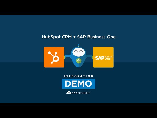 Integrate SAP Business One and HubSpot | APPSeCONNECT