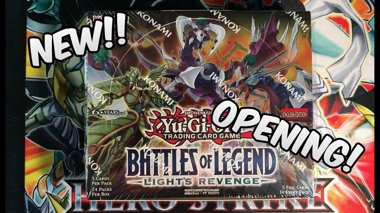 24 Battles of Legend Yu-Gi-Oh TCG Relentless Revenge Booster Display