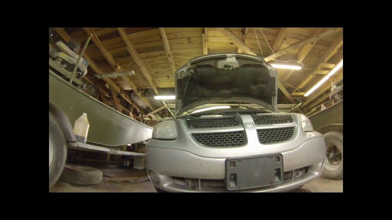 2016 Dodge Avenger >> Dodge caravan oil pressure sensor replace - YouTube