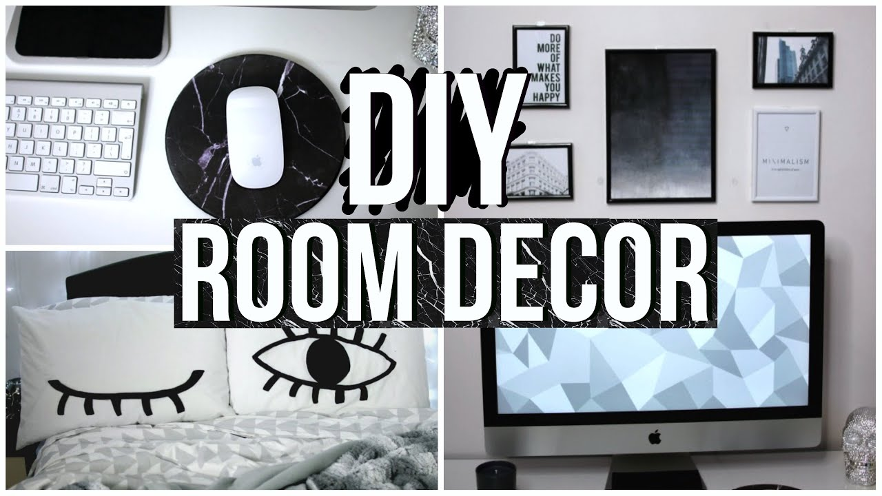 Diy tumblr room decorations youtube for Room decoration ideas 2016