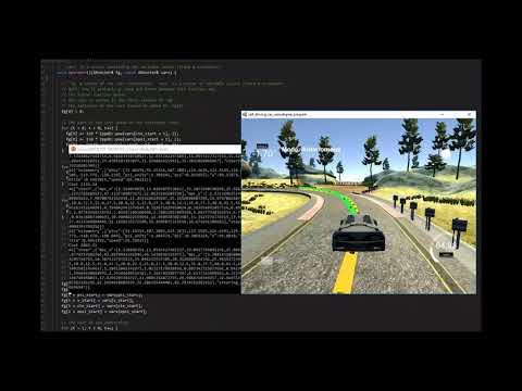 model predictive control (Udacity project Self-Driving Car Engineer)