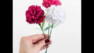 Цветок из гофрированной бумаги своими руками. Цветы из конфет.(Привет всем, делюсь с вами этим http://fas.st/0HViRL сервисом, где я покупаю себе вещи, их там очень много и дешево...., 2015-03-05T17:40:20.000Z)