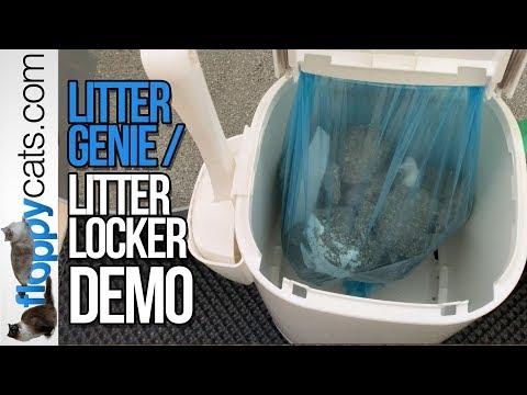 litter-genie-demo-video---how-to-use-litter-genie-or-litter-locker-cat-disposal-system