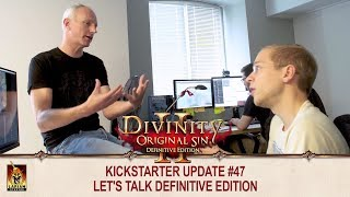 Divinity: Original Sin 2 - Update #47: Let's talk Definitive Edition