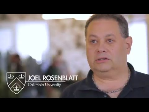 Customer Testimonial - Joel Rosenblatt at Columbia University