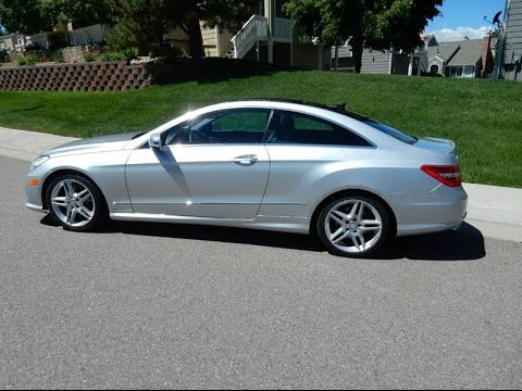 2011 mercedes benz e550 coupe 400hp v8 coupe youtube for 2011 mercedes benz e550 coupe