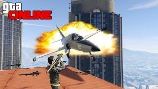 GTA 5 ONLINE (PC) - ИСТРЕБИТЕЛИ VS RPG! #40