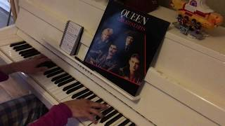Queen medley: 15 Queen songs for piano in 10 mins (Bo Rap, Flash, Keep Yourself Alive, etc)
