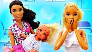 Штеффи притворилась больной - Дочки матери с Барби. Мультики для девочек