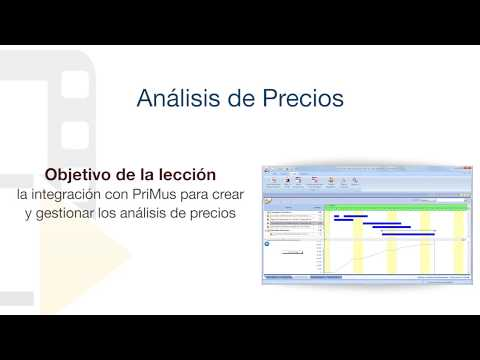 Tutorial de PriMus KRONO - Análisis de Precios - ACCA software thumbnail