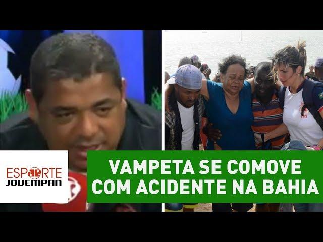 """Vampeta se comove com acidente na Bahia: """"eu nasci ali"""""""