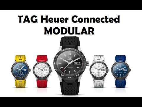 Download Reloj TAG Heuer Connected Modular 45 - Conectado Swiss Made con GPS NFC 45