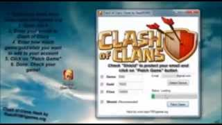 Clash of Clans Hack 2014 No Survey - No Password - Updated 2014