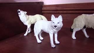 Wolf Figure Collection (Shcleich, Safari Ltd, Papo, CollectA, Bullyland, Etc.) Part 1
