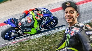 ON THE TRACK WITH VALENTINO ROSSI & MORBIDELLI - DAINESE EXPERIENCE [English Subs]