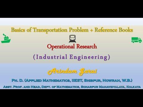 Transportation Problem: Initial Basic Feasible Solution