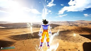 Playing a New Open World Dragon Ball Game