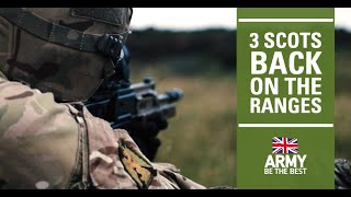 3 SCOTS | Training on Warcop Ranges | British Army