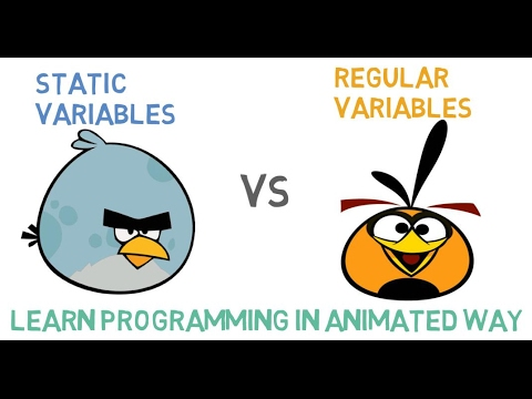 STATIC VARIABLE OR STATIC DATA MEMBER IN C++ -24