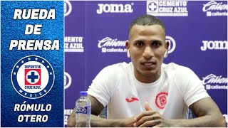 RÓMULO OTERO SE SORPRENDIÓ de que Cruz Azul quería ficharlo tras la Copa América