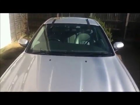 Jaguar X Type Front Windscreen Replacement Youtube