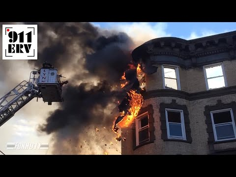 On Scene | Lynn, MA Five Alarm Fire on New Years Day