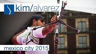 Kim v Alvarez - Recurve Men's Quarterfinal | Mexico City 2015