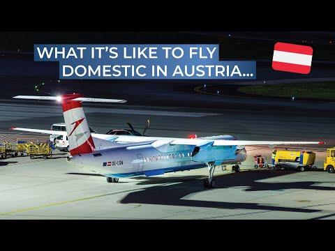 TRIPREPORT | Austrian Airlines (Economy) | Vienna - Graz | Bombardier Dash 8 Q400